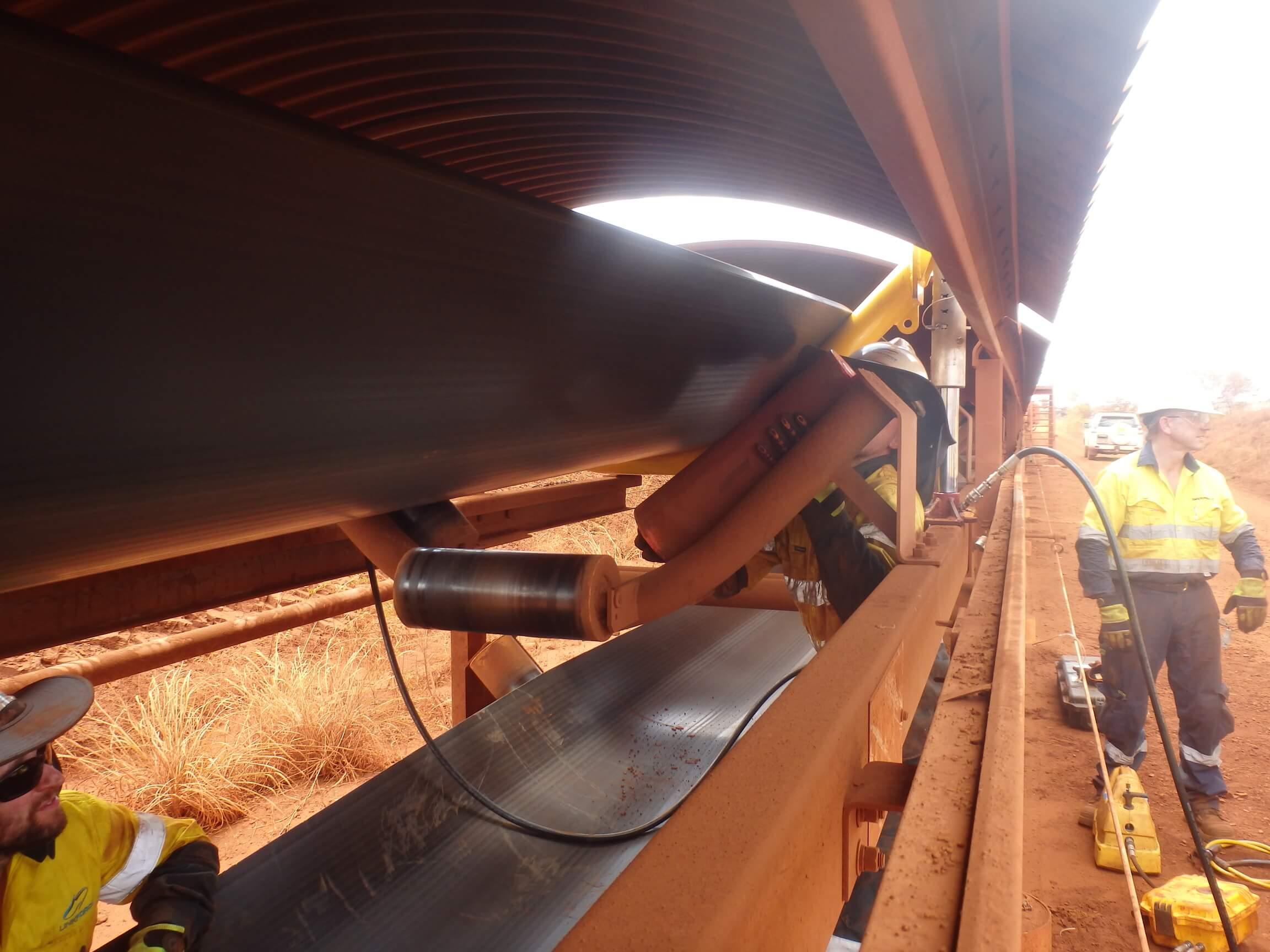Techmine Belt Lifter - Conveyor Belt Lifter